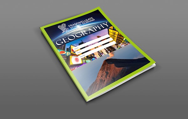 Geography School Book Cover Ideas : Geography exercise books framwellgate school durham