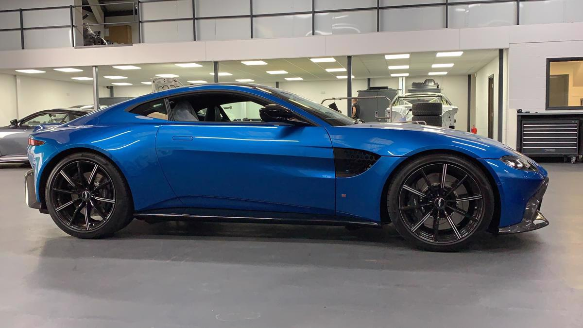 Aston Martin Vantage Amv8 2019 On 4 0tt Tapered Lowering Springs David Appleby Engineering